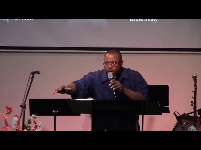 (10-8-17) Not My Will But Let God's Will Be Done - Guest Pastor, Rev. Winston Singleton
