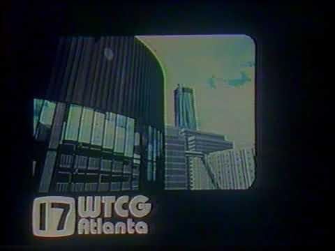 WTCG-TV Channel 17 Atlanta station id (1978)