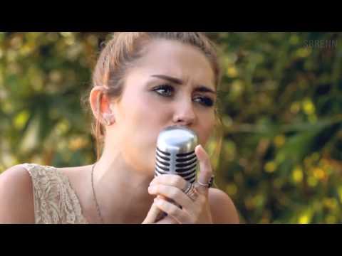 Miley Cyrus: Jolene (HD) fluidly slowed down - still amazing