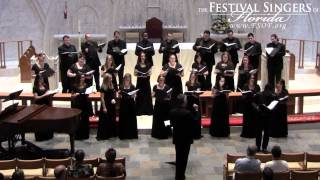 """He Never Failed Me Yet"" feat. Mykal Kilgore, performed by The Festival Singers of Florida"