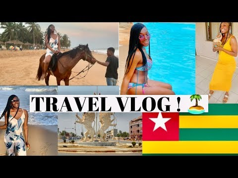Africa Is Beautiful ! | Travel Vlog Pt.1 | Lome Togo