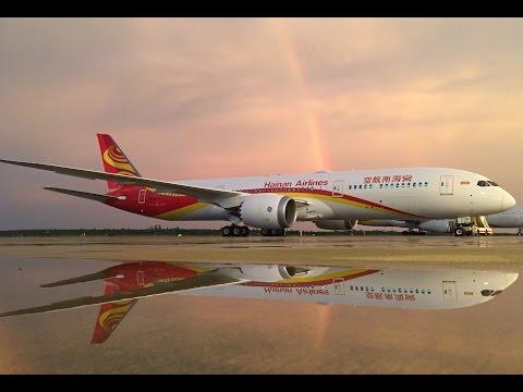 Discover Hainan Airlines' Boeing 787 9 Dreamliner- EN
