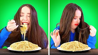 GIRLS PROBLEMS WITH LONG HAIR AND NAILS    Hacks, Tricks and Tips by 5-Minute Crafts LIKE