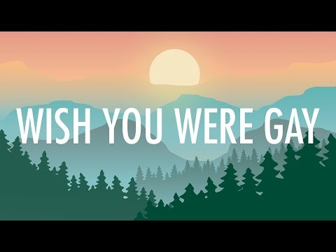 Billie Eilish – wish you were gay (Lyrics) 🎵