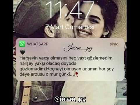 Whatsapp status üçün qısa video !!!