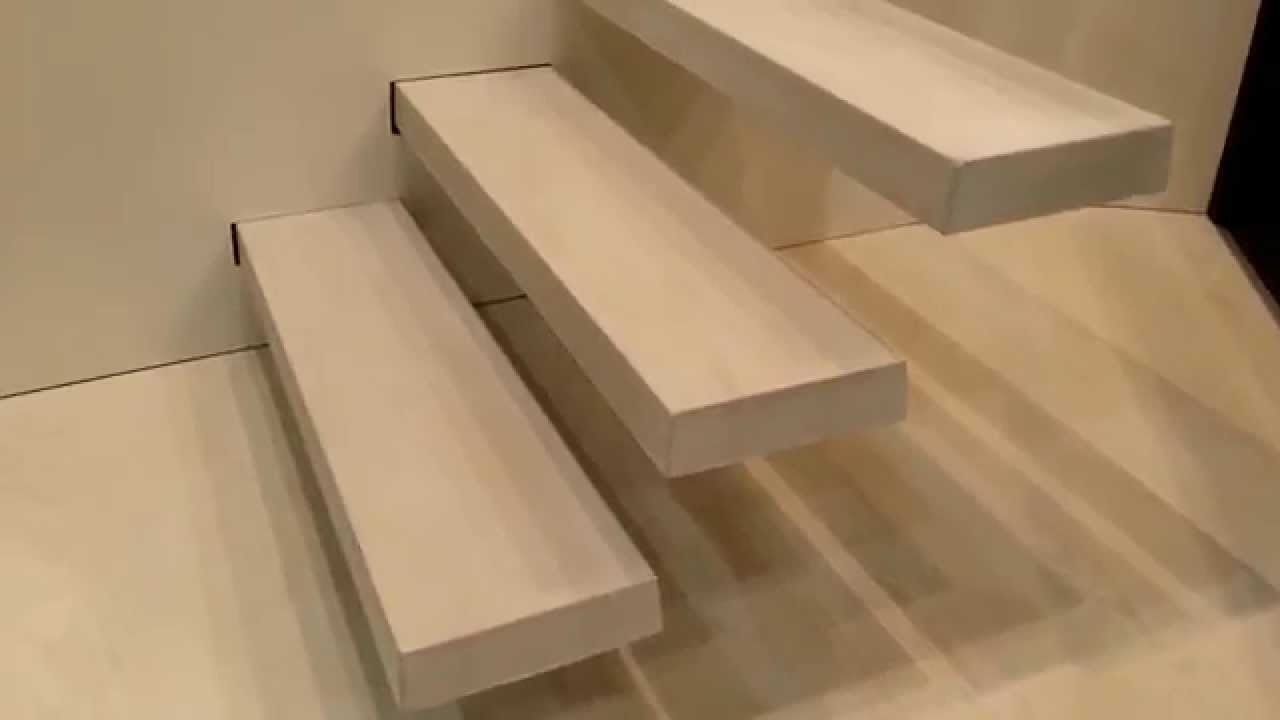 Zwevende Trap Kosten : Zwevende trap beton youtube