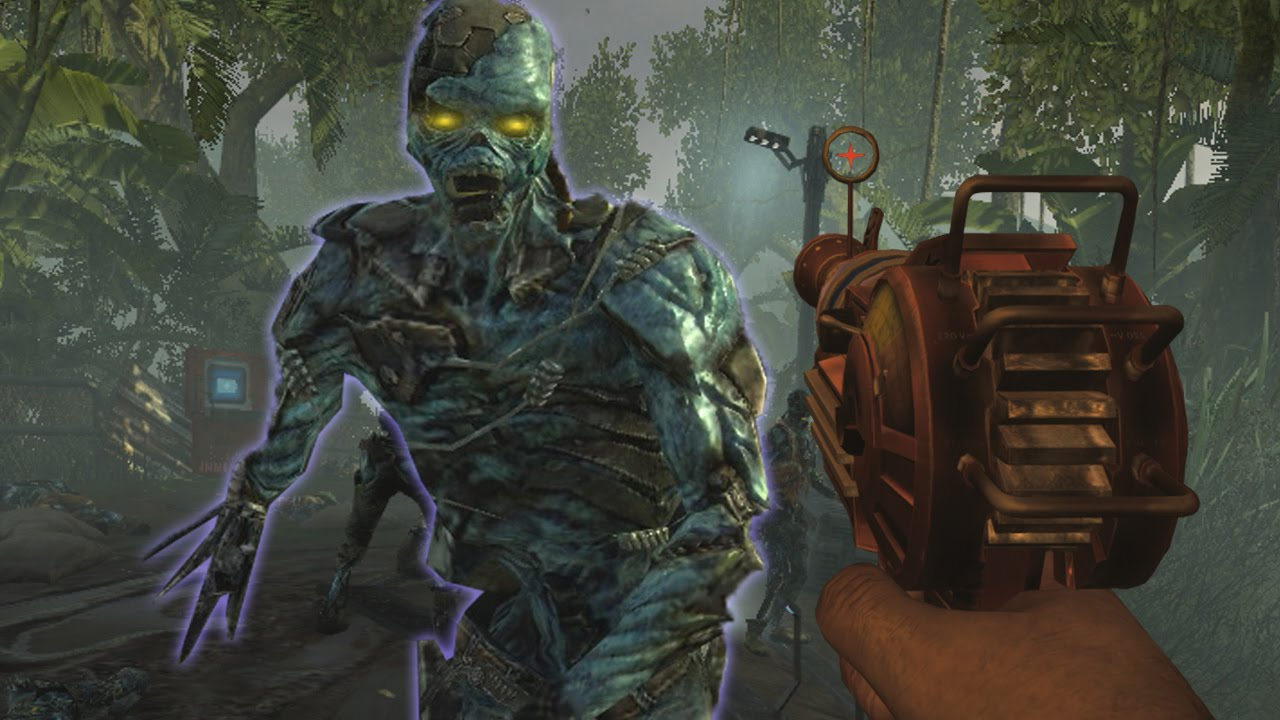 """Call of Duty: Online CYBORG ZOMBIES GAMEPLAY! - """"SHI NO NUMA"""" Zombies! (COD Online Zombies ..."""