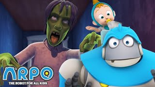 Arpo the Robot | Run for Your LIFE!!! +MORE FULL EPISODES | Compilation | Funny Cartoons for Kids