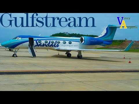 Sandals Resorts Gulf Stream GIV-X (G450) @ Argyle International Airport