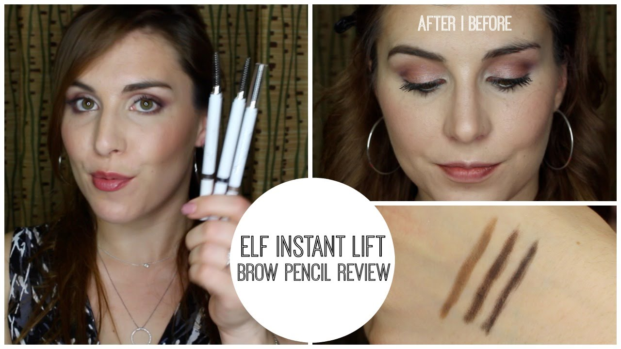 Elf Instant Lift Brow Pencil Review Bailey B Youtube
