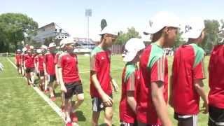 Детский футбол. Детский кубок чемпионов против расизма в Загребе