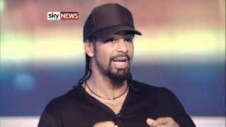 David Haye On His Defeat By Wladimir Klitschko