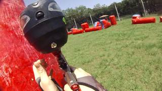 paintball (speedball) gameplay