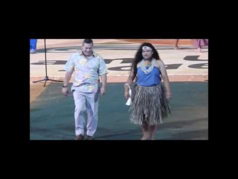 Guam 12th Festpac,  Chamorro dance group  May 29, 2016