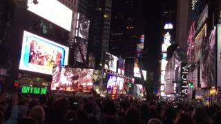 alicia keys and jay z perform empire state of mind new york in times square live october 2016