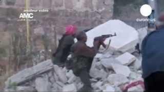 Война в Сирии уничтожает памятники архитектуры   (euronews, 21.06.2013, 00:46)