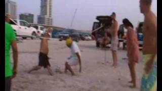Dubai beach Volley Ball