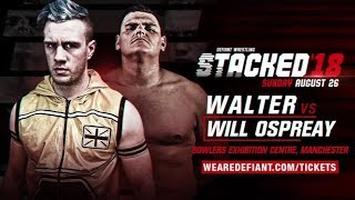 Walter vs Will Ospreay Set For Manchester! (Hendry vs Ospreay Highlights, Built To Destroy 2018)
