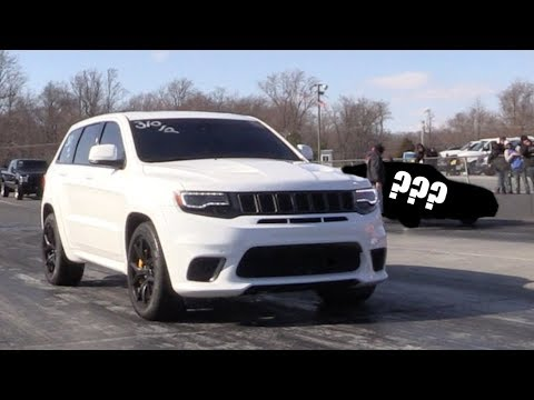 6 Cylinder Takes on Jeep Trackhawk and WINS!?