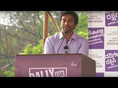 Narain Karthikeyan on Rally for Rivers   Sadhguru