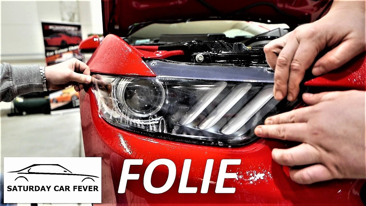 DETAILING OD KUCHNI – odc.9 FOLIE OCHRONNE & CAR WRAPPING – Ford Mustang GT V8 Vlog
