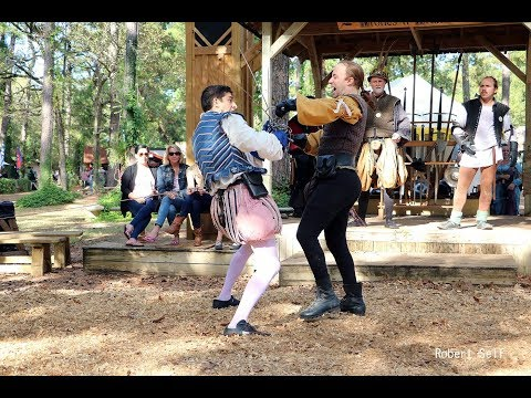 Blunt Force Drama at the Texas Renaissance Festival 2017 (ve