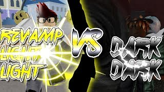 REVAMPED LIGHT LIGHT VS DARK DARK! | Blox Piece | Roblox