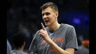 NEW YORK KNICKS FAN ANGRY ABOUT TRADE TALKS WITH PORZINGIS #KNICKS