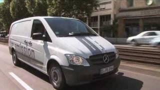 Mercedes-Benz Vito E-Cell 2010 driving