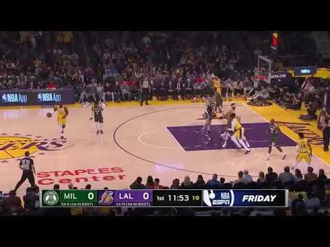 Miluwakee Bucks VS Los Angeles Lakers| Full Game ...
