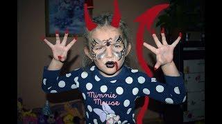 Миллион 2018 Аквагрим паука на хэллоуин, Face painting spider on Halloween,