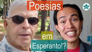 É possível compor poesias em Esperanto? Conversa Paulo Nascentes | Esperanto do ZERO!