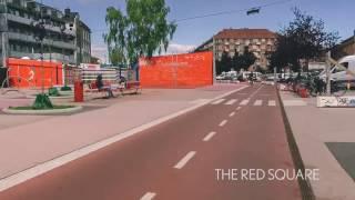 The bike lanes of Copenhagen