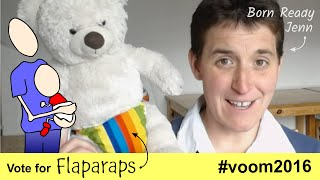 Flaparaps - nappies for nappy free babies #voom #pitchtorich