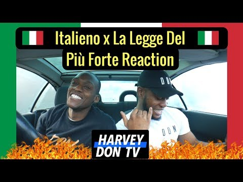 Cromo x Vegas Jones - Italieano and Tedua - La Legge Del Più Forte Reaction