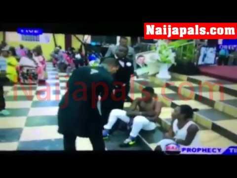 Ghana Pastor Obinim Beats Youths For Having Pre-martial sex