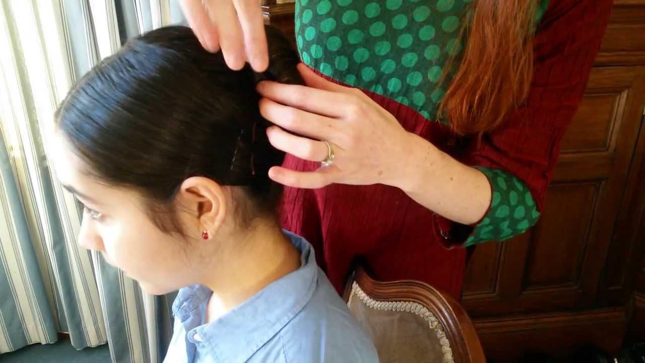 Ihayami School Hair In Single Doughnut For Children Video