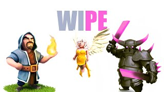 WIPE? MA CHE TECNICA E'? CLASH OF CLANS EP8 //EPICO//