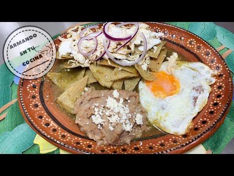 Chilaquiles Verdes Con Pollito