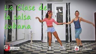 La clase de salsa cubana - timba rumba