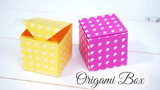 색종이로 상자접기 / 만들기 쉬운 선물상자 / Orig…