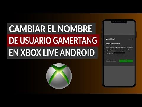 Cómo Cambiar el Nombre de Usuario Gamertag en Xbox Live Android