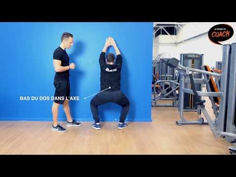 Comment bien faire des squats ? Les coachs de L'Orange Bleue vous conseillent