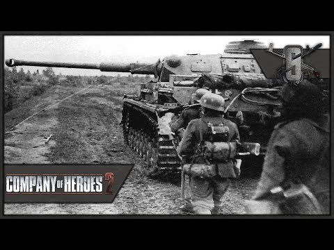 75mm Panzer IV Finally! - Company of Heroes 2 - Theater of W