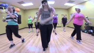 Drop It Low - Ester Dean & Chris Brown Zumba with Mallory HotMess