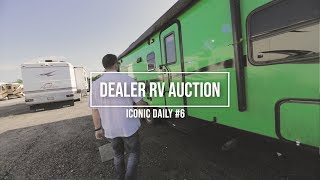 RV Auction  Dealer ONLY  We Got Inside Footage, Guess What We Saw!