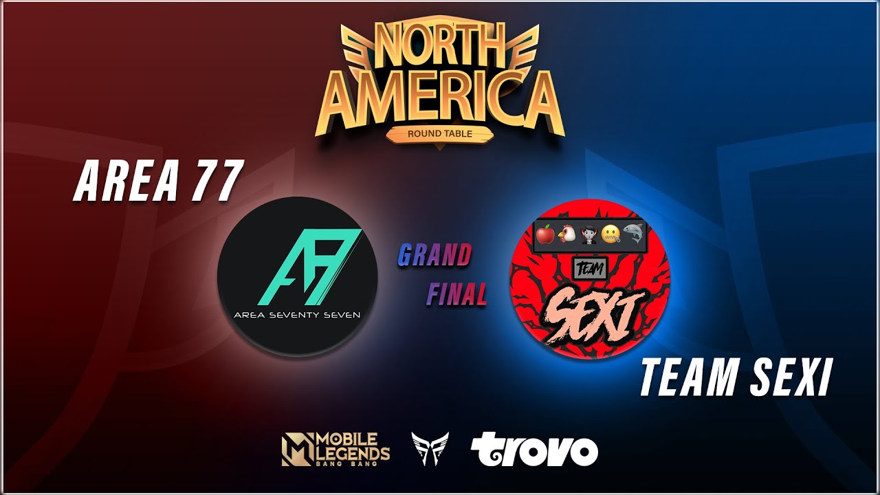Team Sexi vs Area 77 G4 | North America Round Table Grand Final | Mobile Legends