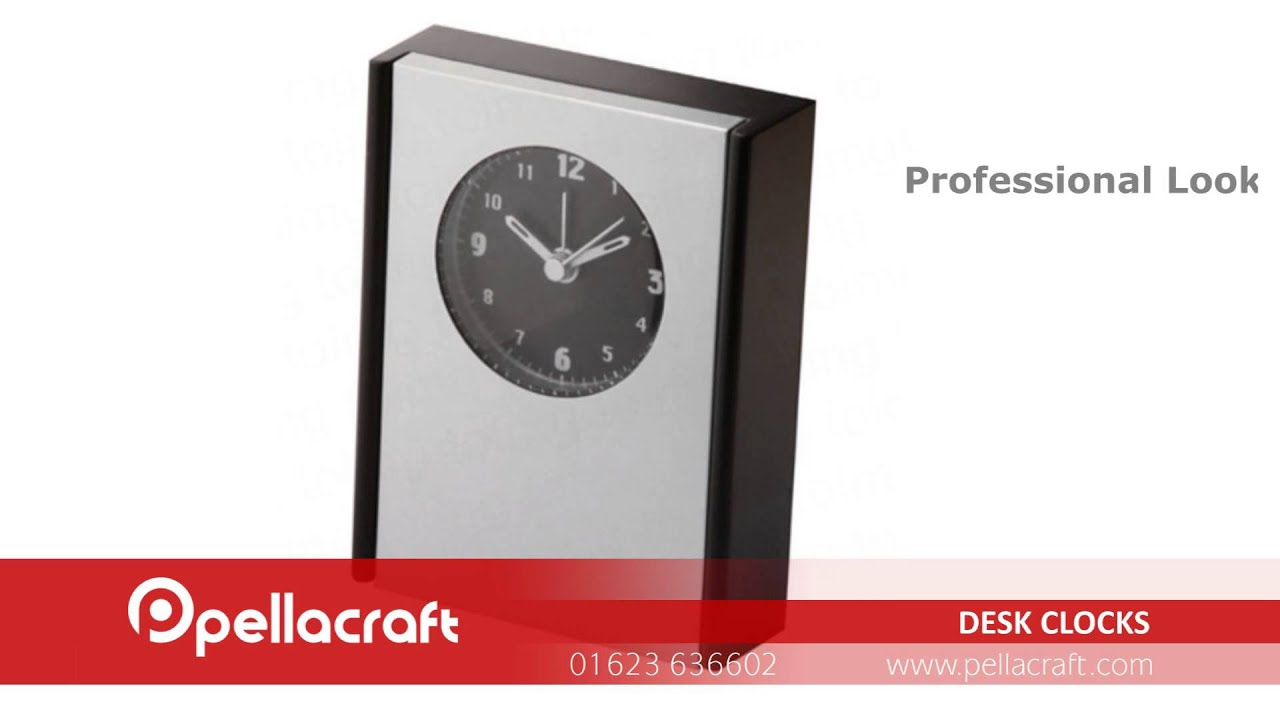 Business Gifts - Desk Clocks