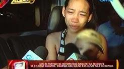 Live-in partner ng motoristang namatay sa aksidente, sinariwa ang huling pag-uusap sa biktima