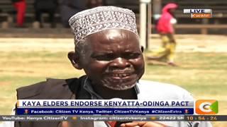 Citizen Extra: Kaya Elders endorse Kenyatta - Odinga Pact
